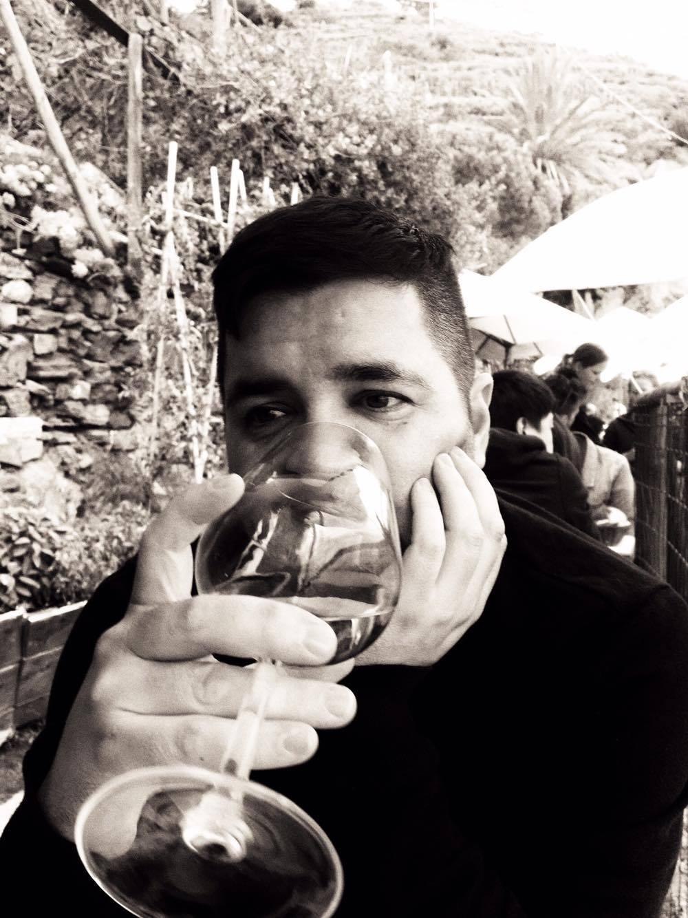 Nathan Aguilera in Cinque Terre