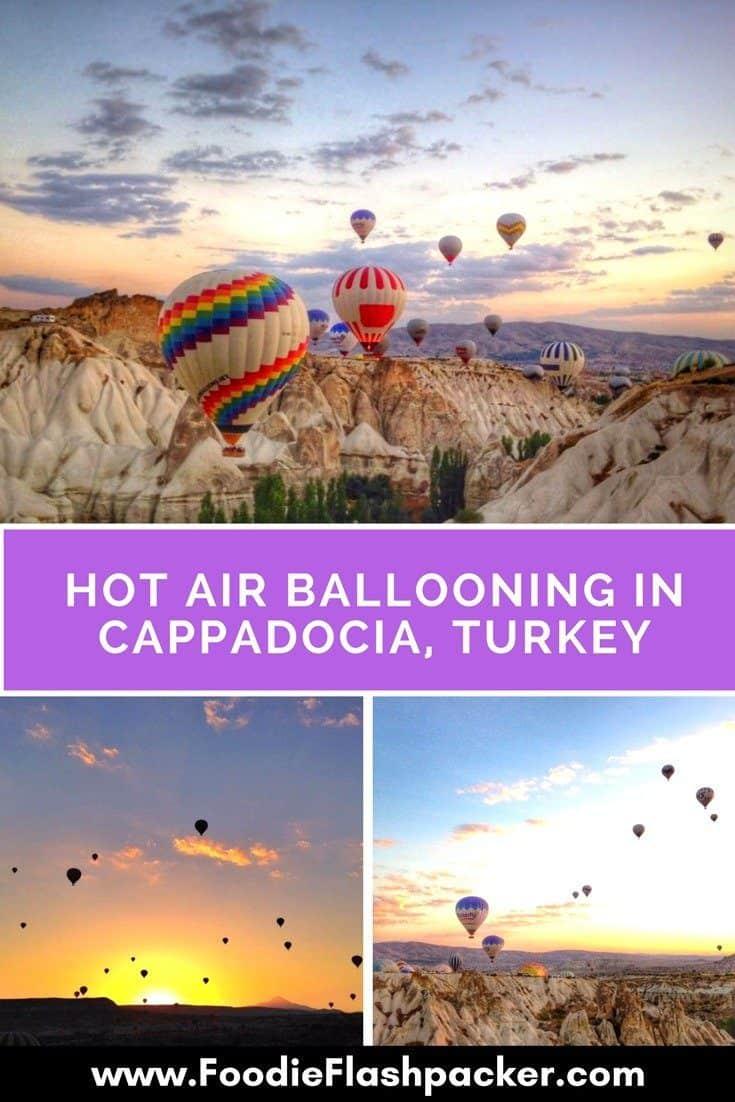 hot air balloon Cappadoica Turkey