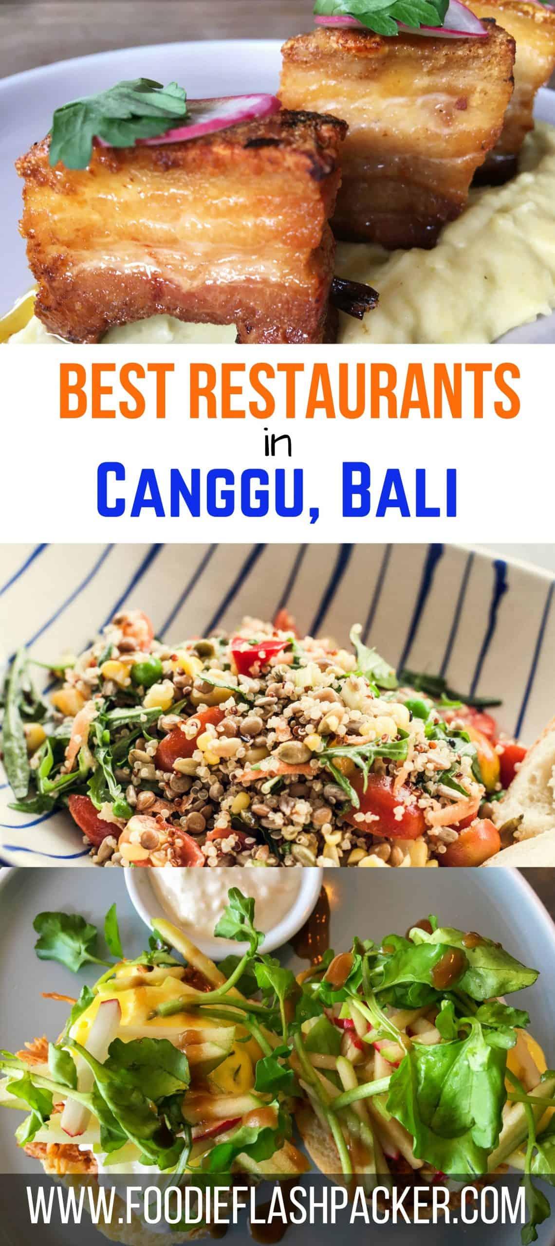 Best Restaurants in Canggu Bali