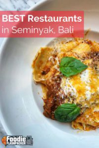Seminyak has emerged as the foodie capital of Bali. Here, you can find everything from stalls selling street food to restaurants that give serious competition to any that have won a Michelin star. Following my recent visit, I've created a guide to help you find the best restaurants in Seminyak.