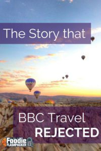 A story of connecting with someone that I met through travelling. BBC didn't publish it, but you can read it by clicking on the picture!
