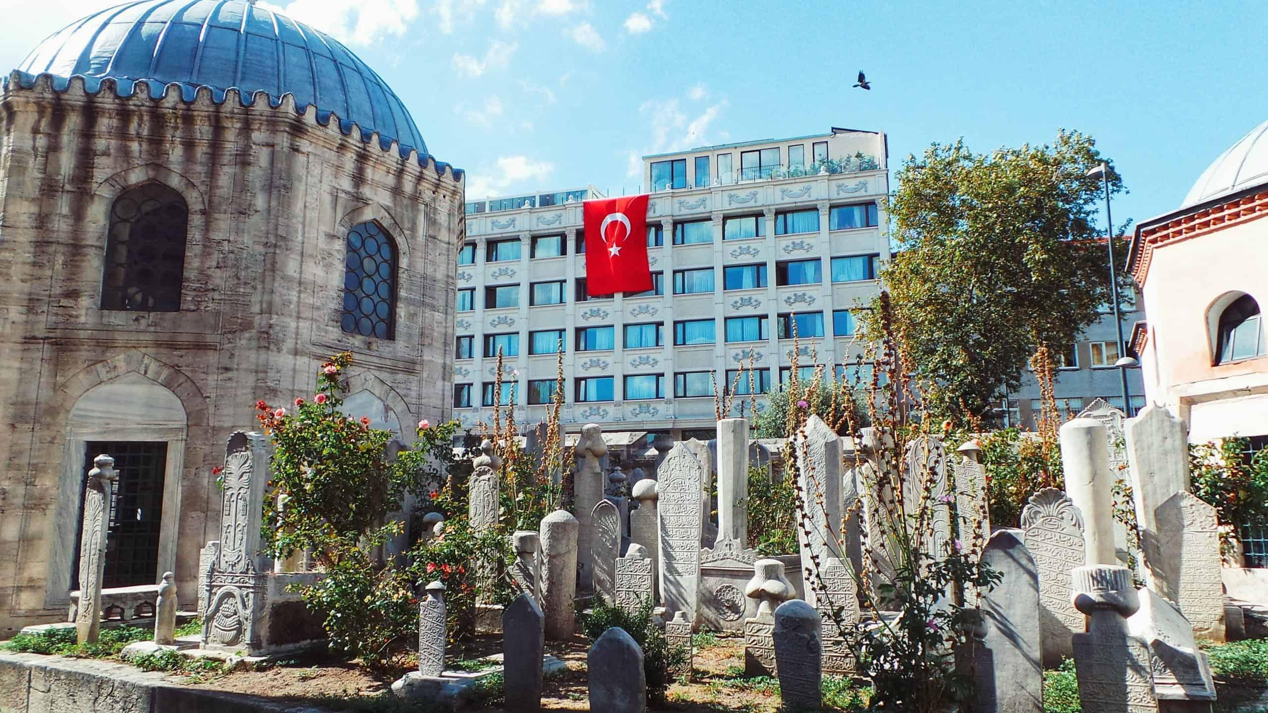 walking tour of Istanbul
