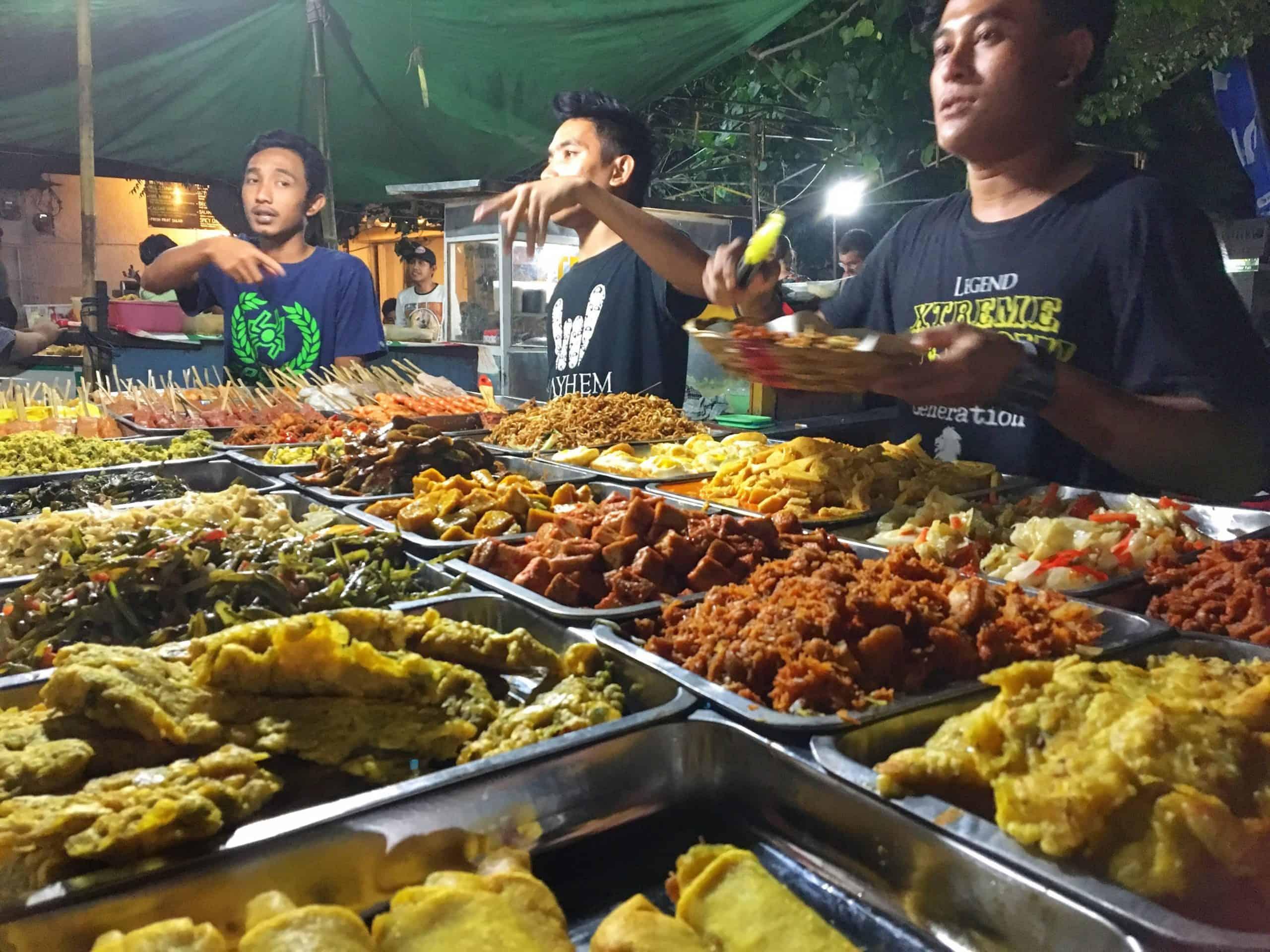 where to eat Gili Trawangan