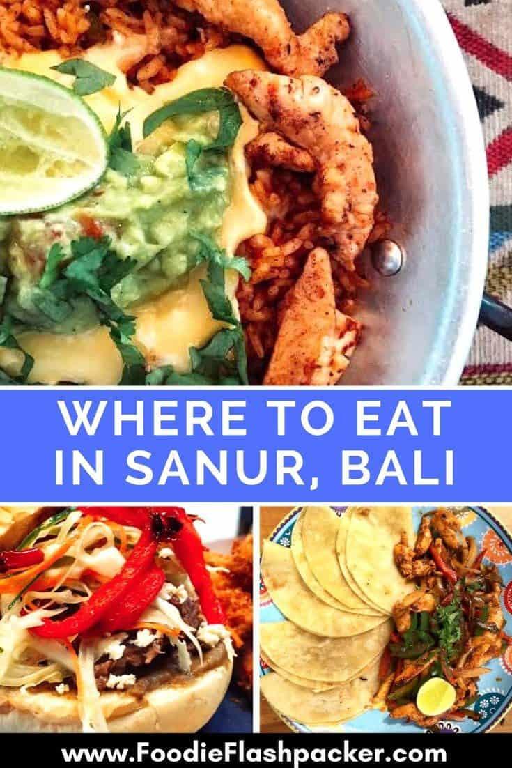 where to eat Sanur Bali