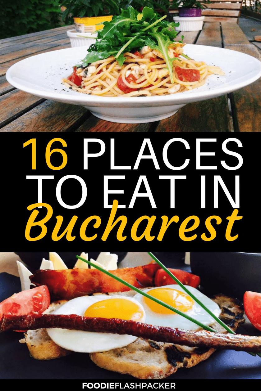 best bucharest restaurants