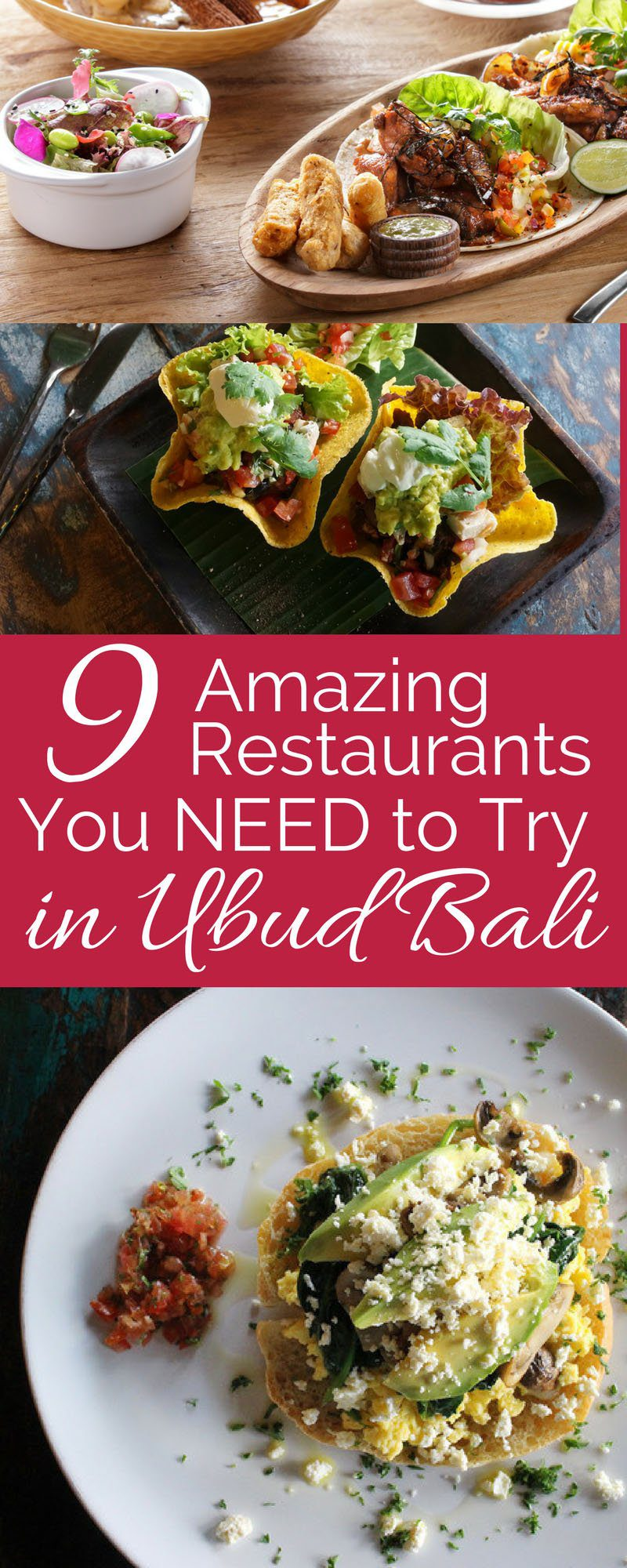 Ubud has a wide and varied selection of restaurants that cater to every taste. Ever since Julia Roberts put Ubud on the map with 'Eat, Pray, Love,' tourists have been flocking to this small town in the uplands of Bali. Click on the photo to see the list of the best restaurants in Ubud.