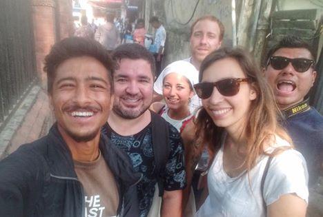 walking food tour of kathmandu