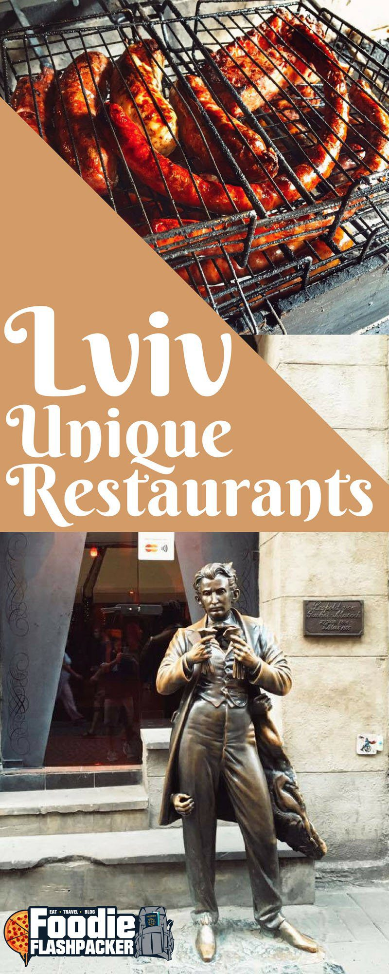 Lviv is one of my new favorite cities. One of the many things I love are all of the unique restaurants found throughout the city. From quirky to controversial, here are the top five most unique restaurants in Lviv: