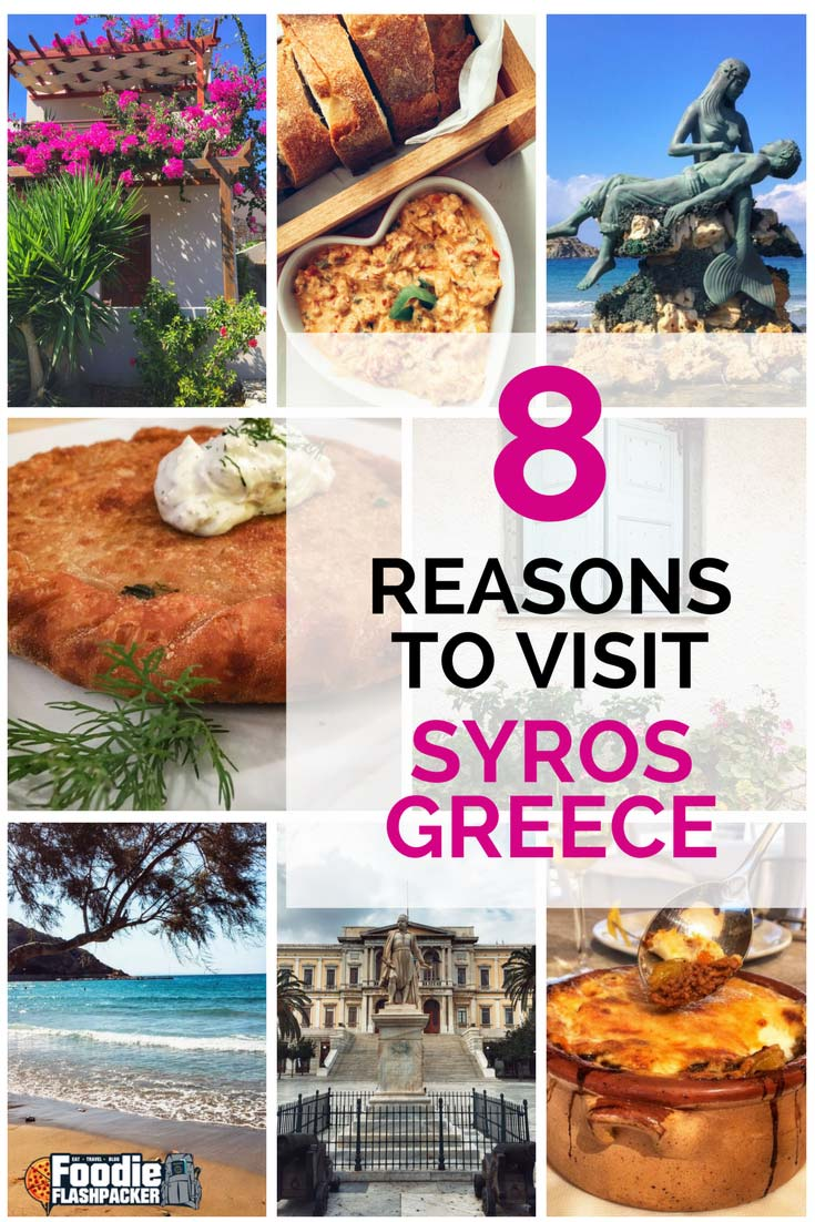"""Syros is poised to become the next """"it"""" place to visit in Greece. I recently spent three weeks exploring the island and came up with the top reasons you should start planning your own visit!"""