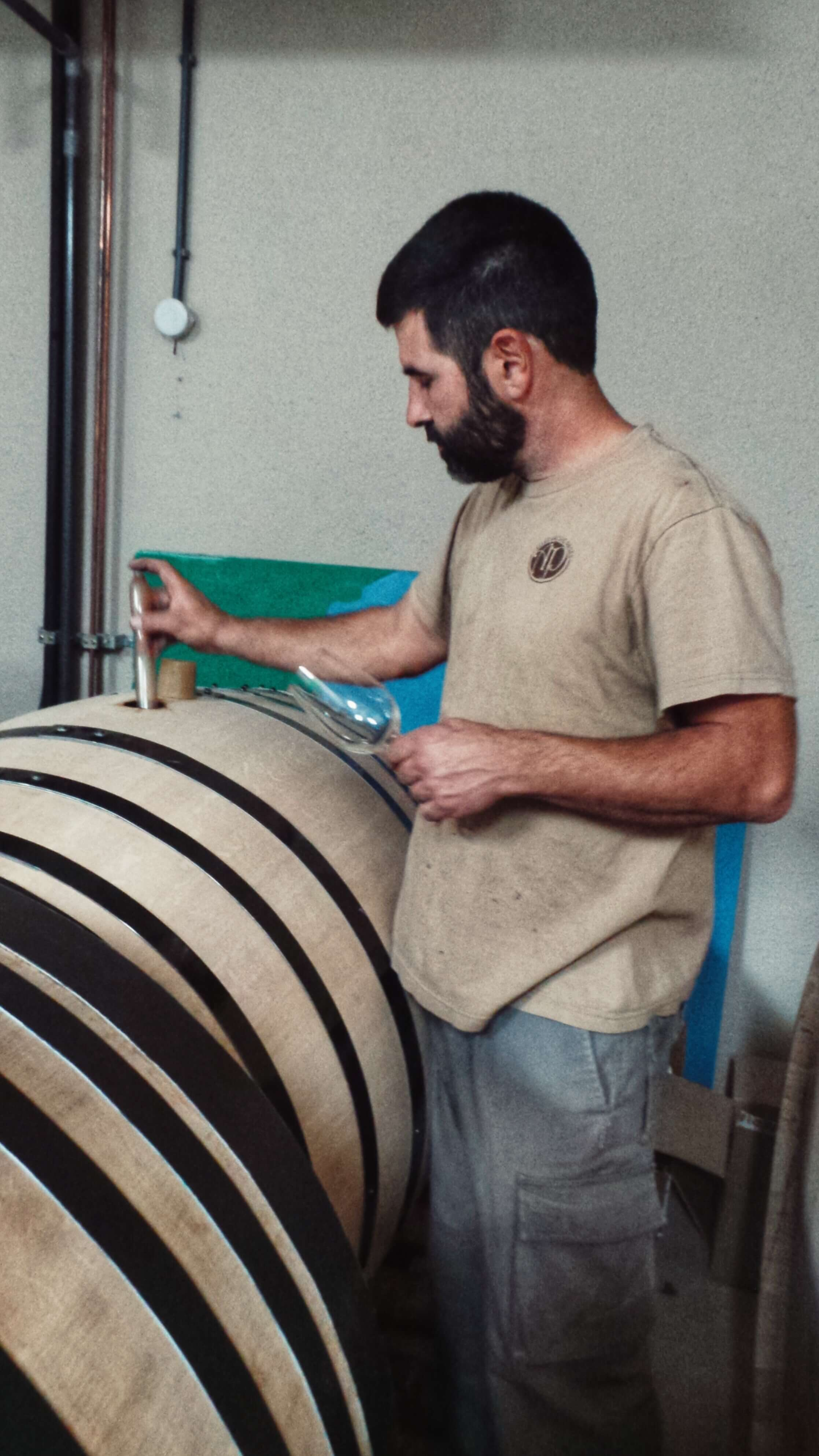 arche pages wine cellar costa brava spain