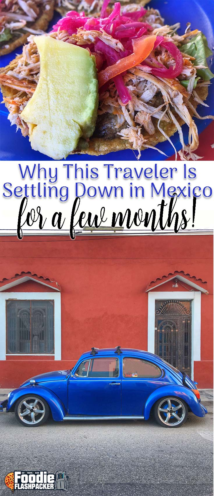 Click the photo to find out why I've settled down in Mexico for a few months, and why I love it here!