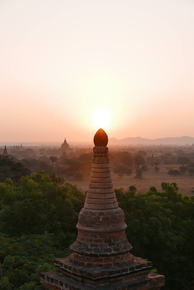 The Temples of Bagan-Although Myanmar, formerly known as Burma, is fast becoming a part of the trail for backpackers visitingSoutheast Asia, it is still possible to visit andfeel as though you're one of the first to discover this amazing country. But, as you'll hear from anyone who has been, the best time to go is now or as soon as possible.