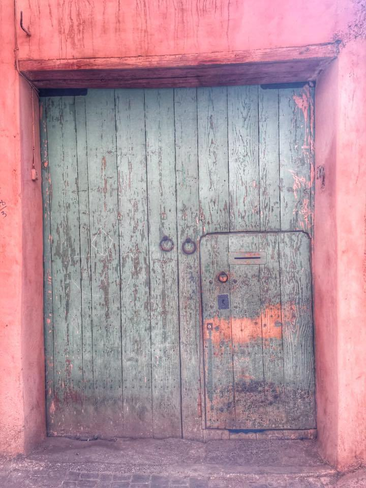 Marrakech doors - The busy, bustling, crowded and wonderful city of Marrakech, Morocco.
