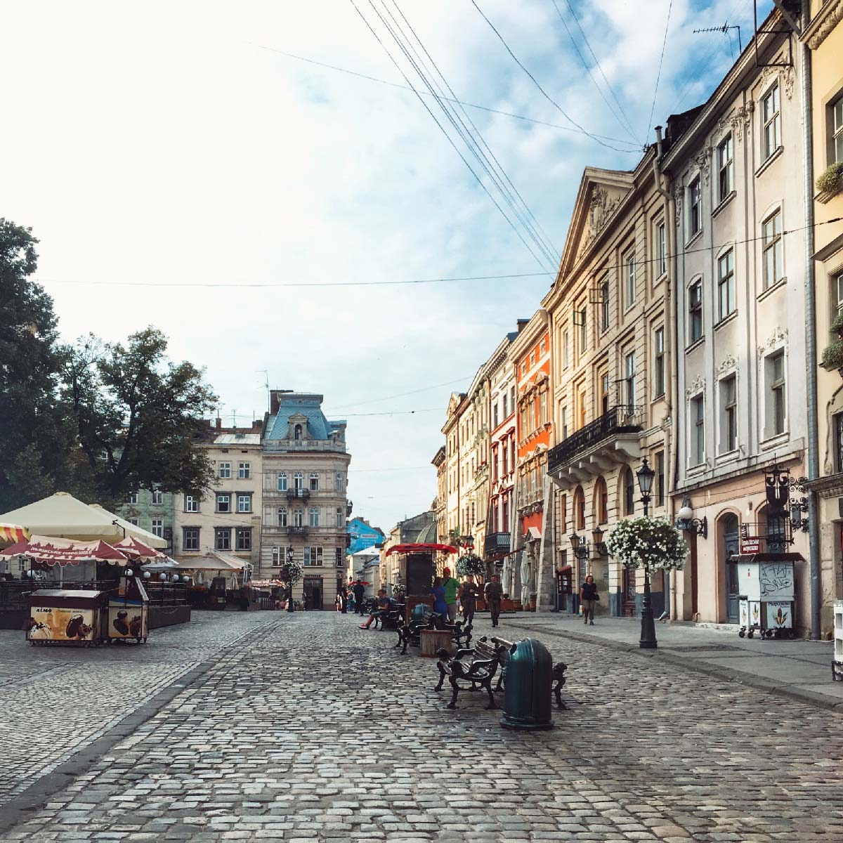 I kept hearing how great Lviv was. I didn't visit many other cities in Ukraine, but it was immediately apparent Lviv was different.