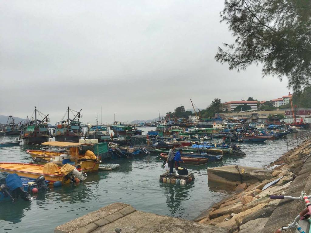 a sleepy little fishing island less than an hour from the madness that is Hong Kong