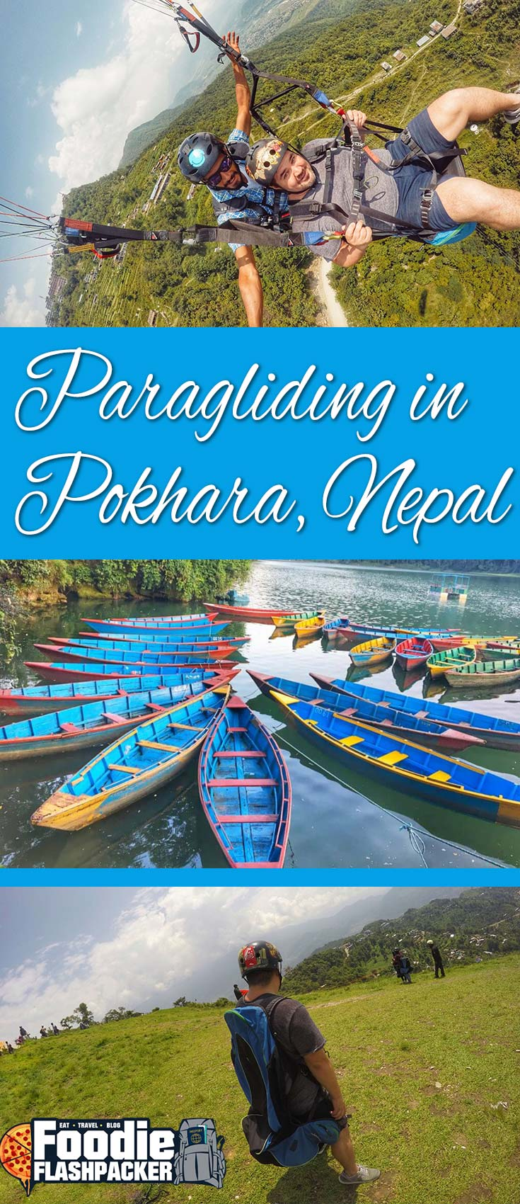 paragliding in pokhara nepal