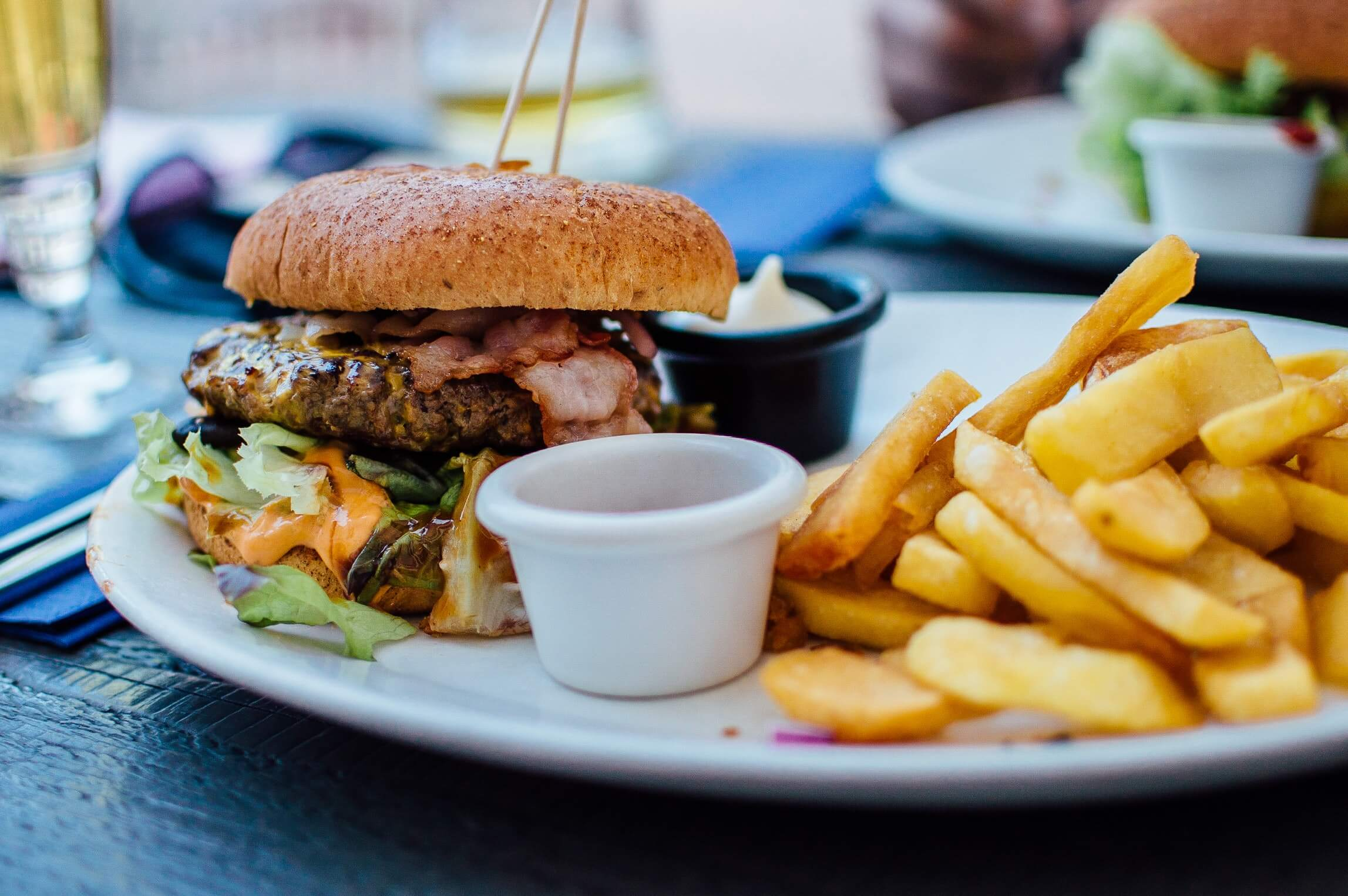 burger and fries Vienna restaurants