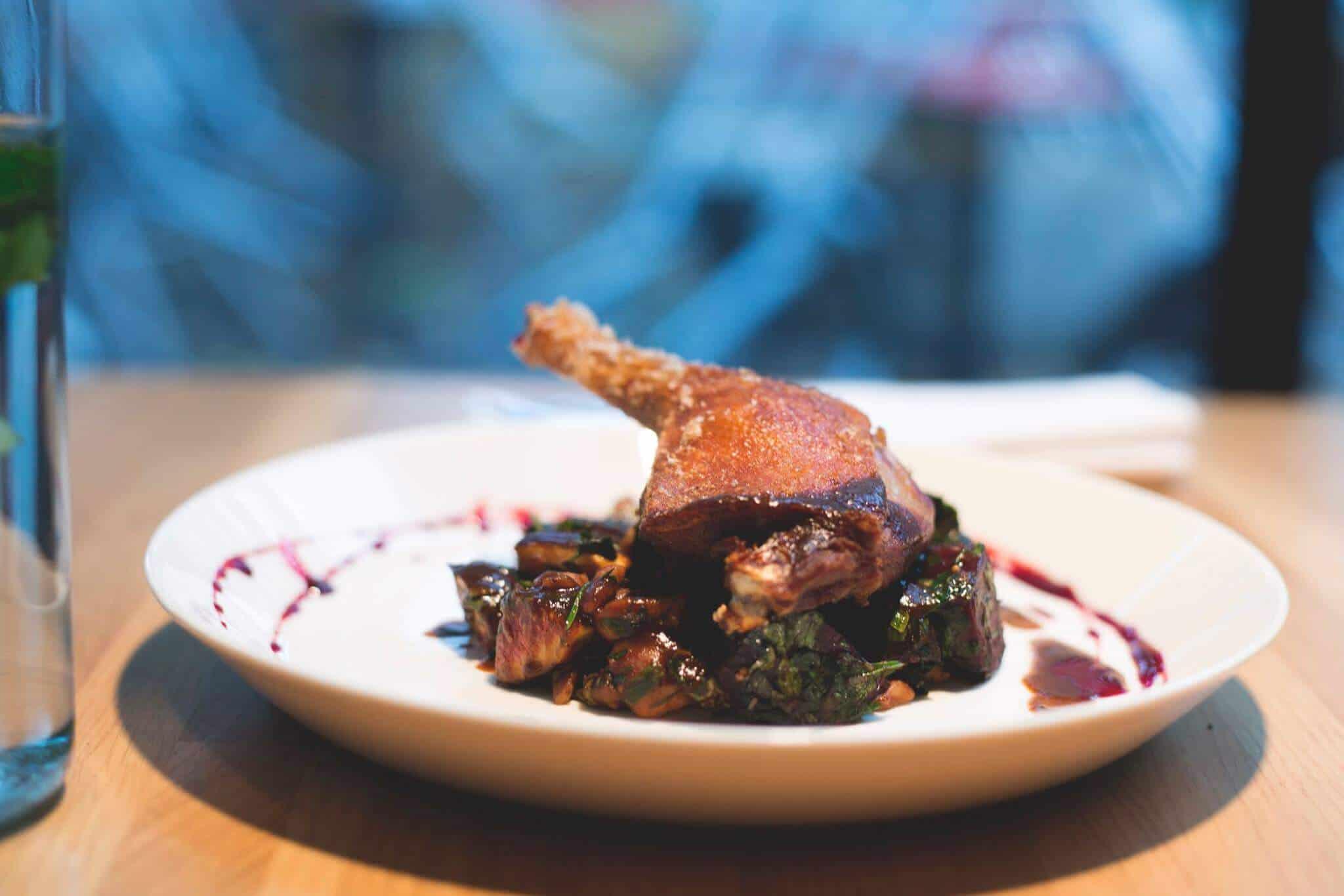 roasted duck Vienna restaurants