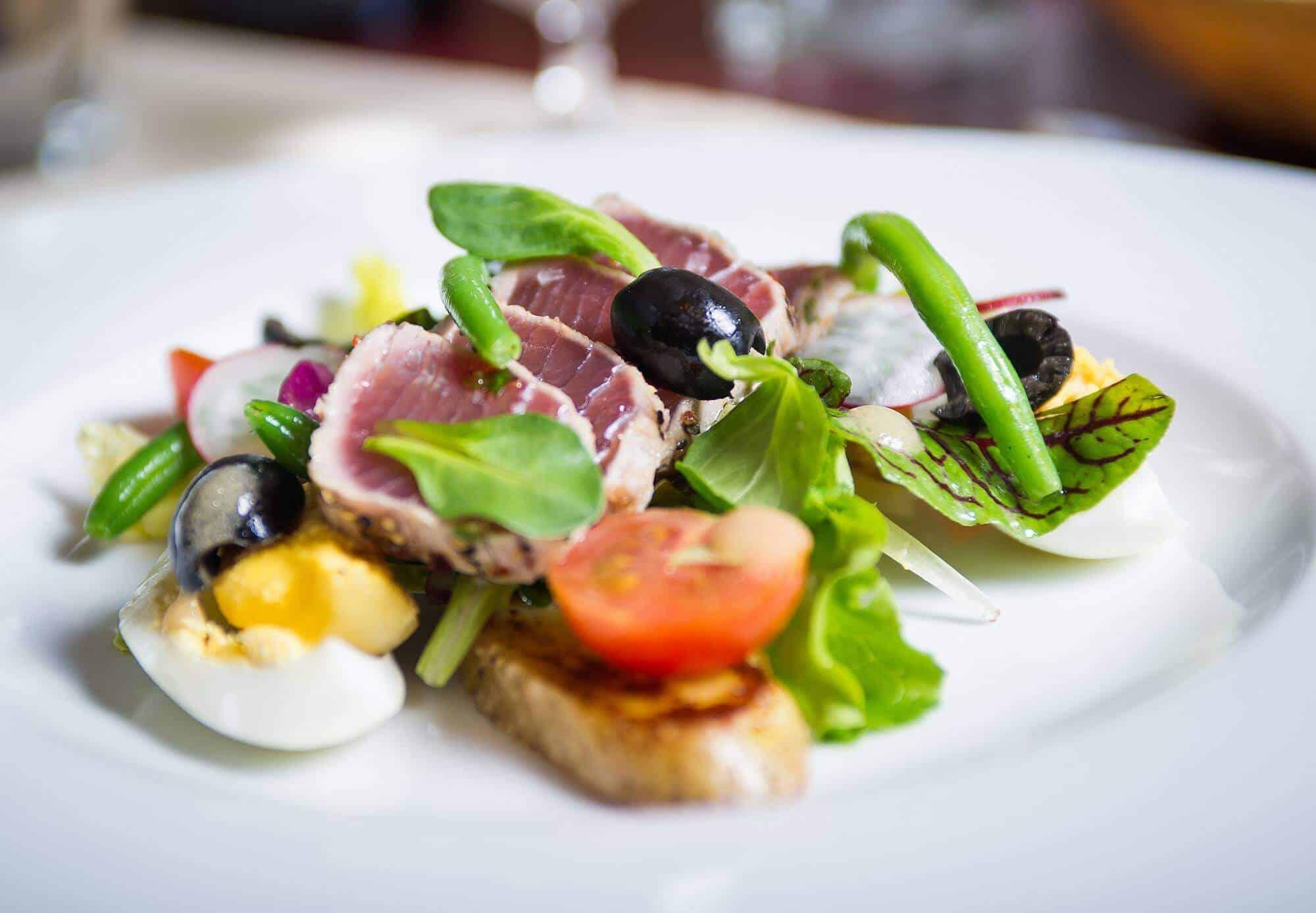 salad Best Cesky Krumlov restaurants